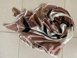 Borbonese Écharpe en soie multicolore