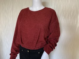 Bordeauxroter Cropped Pullover von Oxxo Gr. M/L NEU