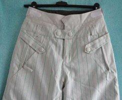 Pantalon thermique blanc tissu mixte