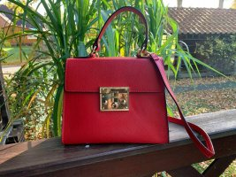 Borse in Pelle Italy Sac à main rouge cuir