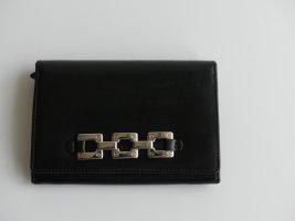 Boss Damen Geldbörse Leder schwarz
