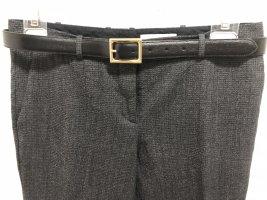 BOSS | Elegante Wollhose | grau meliert