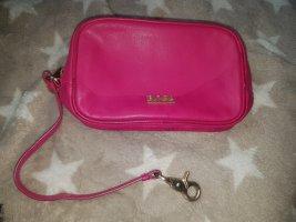 Hugo Boss Makeup Bag pink-gold-colored leather