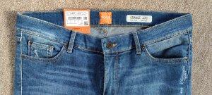 Boss Orange Pantalon strech bleu