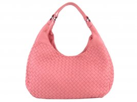 Bottega Veneta Hobos pink leather