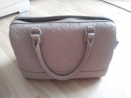 Bowling Bag rose-gold-coloured synthetic