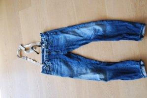 Boyfriend Jeans G-Strar Jeans mit abnehmbaren Hosenträgern