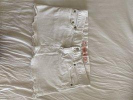 Brandy & Melville Denim Skirt white