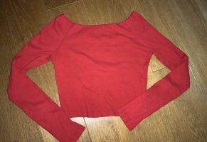 Brandy & Melville Longsleeve dark red-red