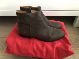 Braune Ankle Boots Gr.38, top