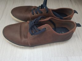 Braune, Blaue H&M Schuhe Herrenschuhe in Lederoptik 41