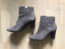 Geox Respira Low boot brun foncé-doré