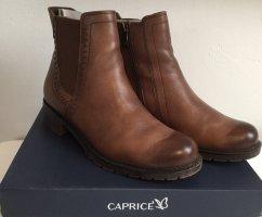 Caprice Chelsea laarzen bruin-cognac