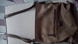 Braune Crossshoulderbag