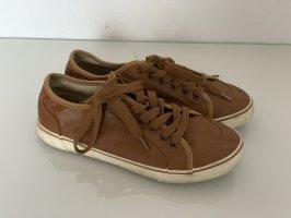 Braune Damen Sneaker Turnschuhe Gr. 38