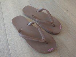 Braune flip*flops