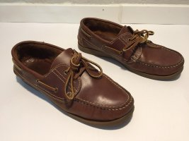 Highmoore Sailing Shoes brown leather