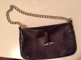 Braune Ledertasche mit Kette von Longchamp