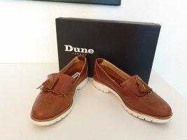 braune Loafer von Dune
