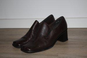 Tamaris Buty wciągane czarno-brązowy-ciemnobrązowy