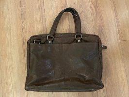 Marc O'Polo Briefcase brown-black brown