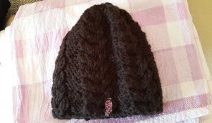 Roxy Knitted Hat brown