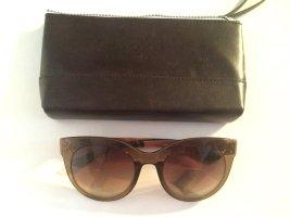 Braune Oxydo Sonnenbrille mit Etui - NEU!