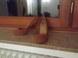 Buffalo girl Platform Pumps brown