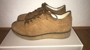 Bullboxer Lace-Up Sneaker camel-bronze-colored