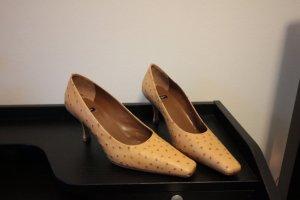 Baldan Pointed Toe Pumps sand brown-light brown leather