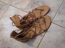 braune Römer Sandalen