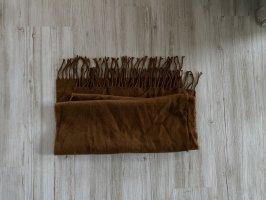 Braune Schal