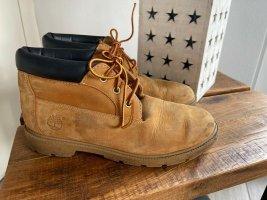 Timberland Chukka boot brun sable-noir tissu mixte
