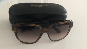 Balmain Hoekige zonnebril bruin