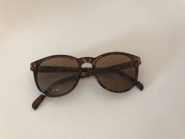 Braune Sonnenbrille mit Leomuster von H&M