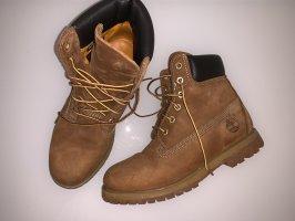 Braune Stiefel / Boots von Timberland Gr. 38