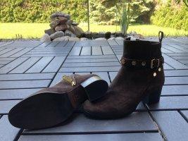 Braune Stiefeletten von Gaia Bardelli Milano 36