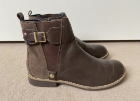 braune Tommy Hilfiger Chelsea Boots 35