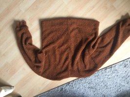 MNG Pull torsadé brun-marron clair