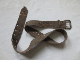 Studded Belt light brown