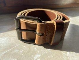 H&M Cintura di pelle marrone
