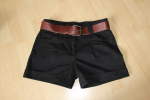 H&M Leather Belt black brown leather