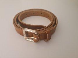 Vanzetti Leather Belt brown-cognac-coloured