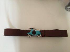 Bernd Götz Leather Belt multicolored