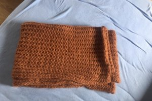 New Yorker Snood cognac-coloured