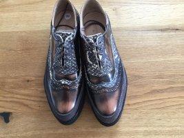Melvil & Hamilton Zapatos brogue marrón
