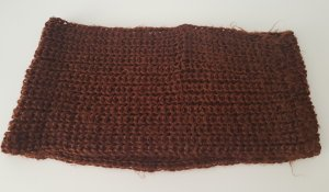 Crochet Scarf brown