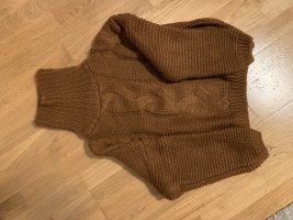 Brauner Warmer Pullover Zaful