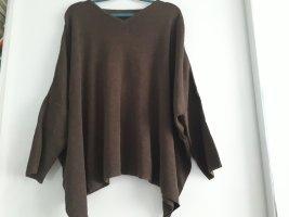 Jersey de lana marrón