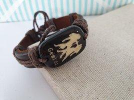 Bracelet brun-marron clair